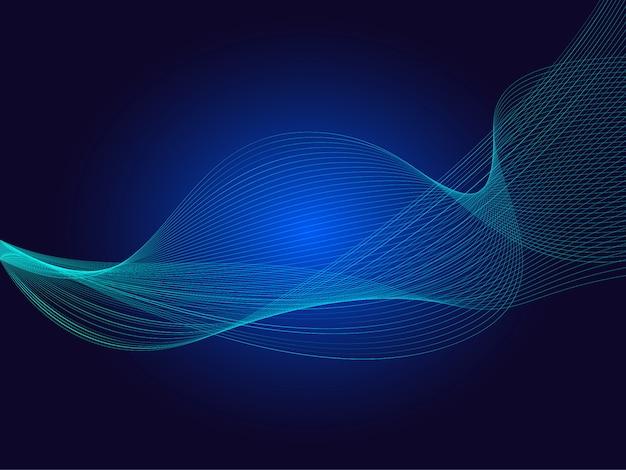 あなたのビジネスのための抽象的な波要素。