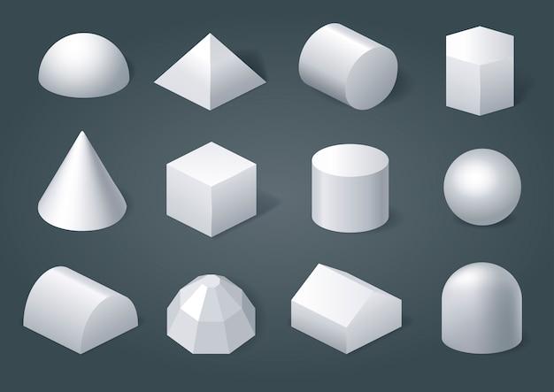 幾何学的図形のセット