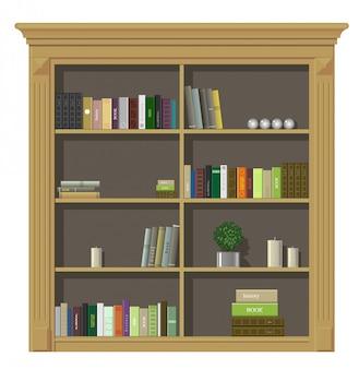 本の木製キャビネット