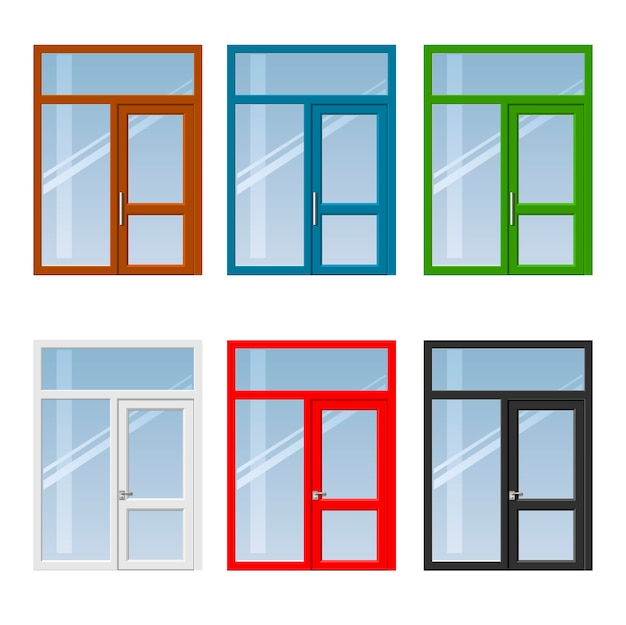 ドアと窓のセット