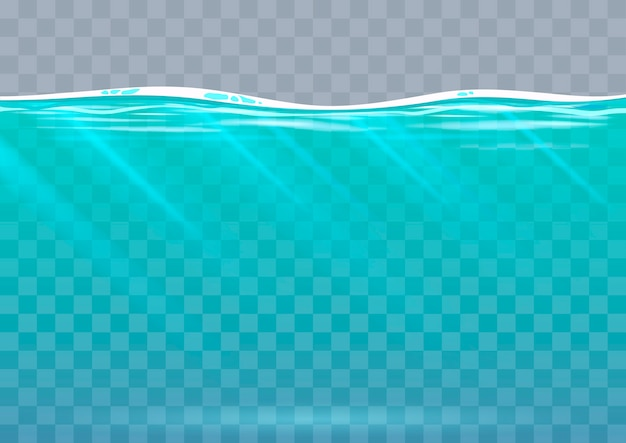 ベクトルグラフィックの水中の背景