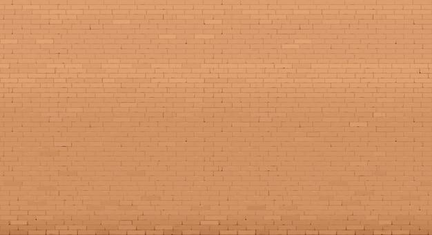 背景の壁の古い赤レンガ古い赤のレンガ