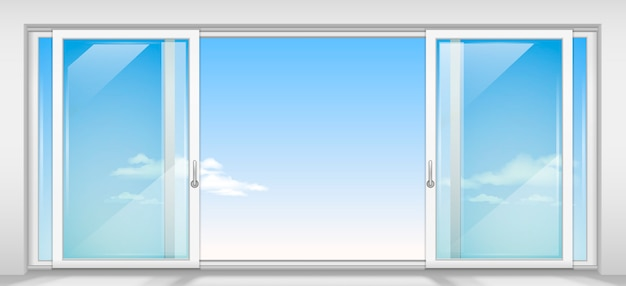 Современная раздвижная дверь