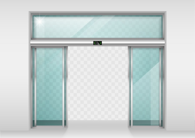 スライドガラス自動ドア