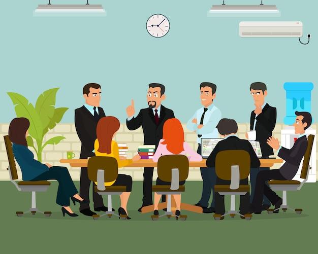 Деловая встреча в офисе