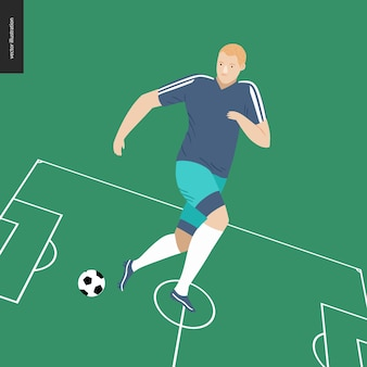 Европейский футбол, футболист