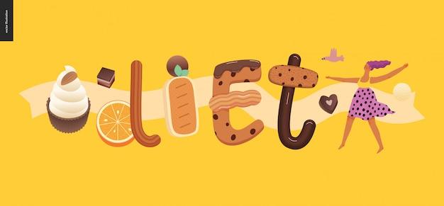 デザートの誘惑フォント