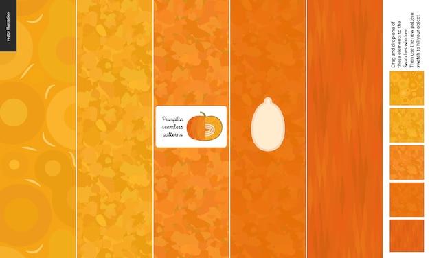 カボチャの食物パターン