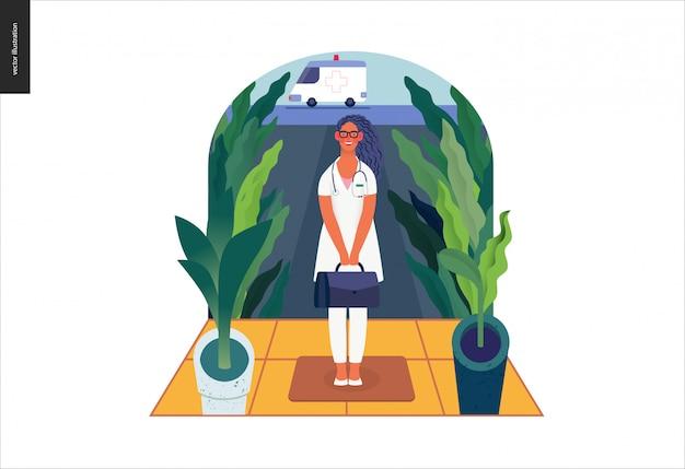 医療保険テンプレート-在宅医療支援