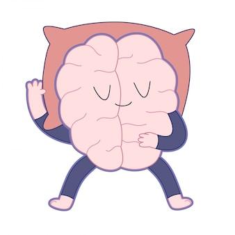 眠っている脳