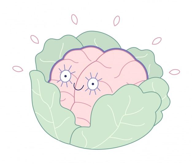 真新しい、生まれたばかりの脳