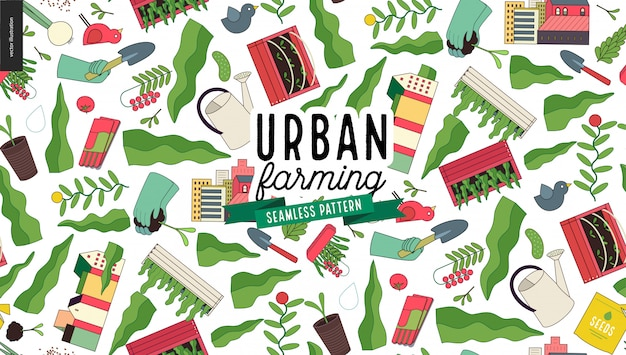 都市農業および園芸パターン