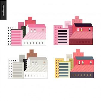 Набор домов