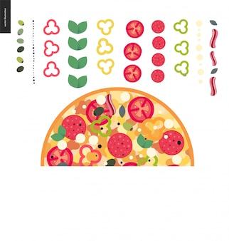 ピザの材料