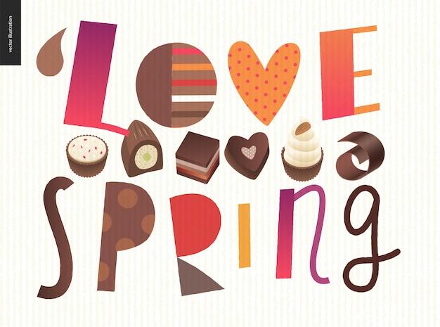 Люблю весенний шоколад