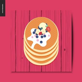 簡単なこと - パンケーキ