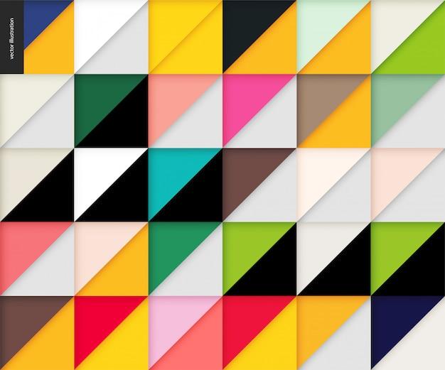 Бесшовные геометрический рисунок бумаги