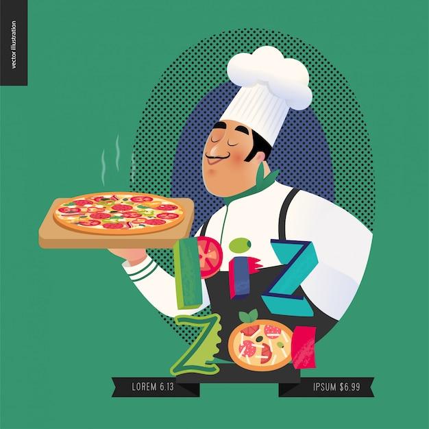 Итальянский повар