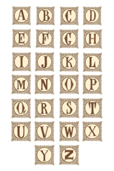 Элегантная буква алфавита.