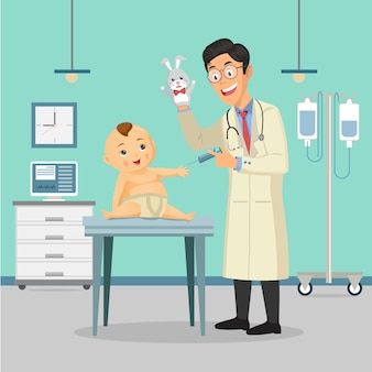 医者の小児科医
