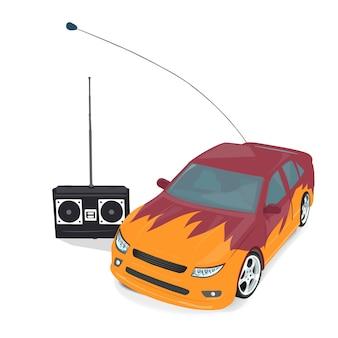 リモコン付きおもちゃのスポーツカー
