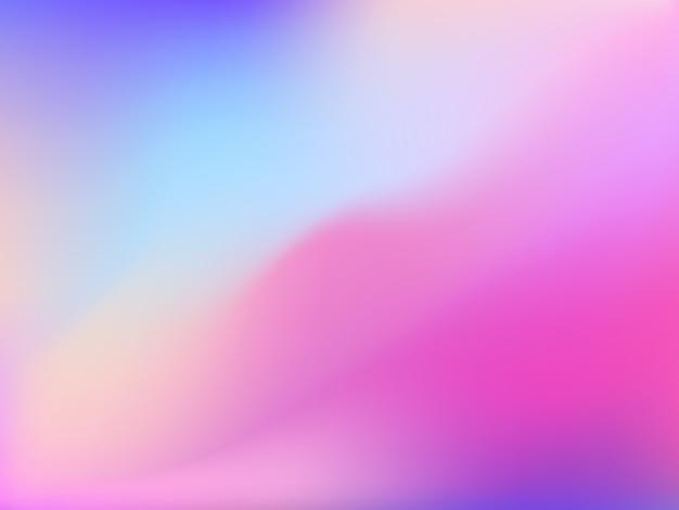 穏やかなピンク色の抽象的なメッシュバックグラウンド。ペイントの縞を模倣したグラデーションメッシュ