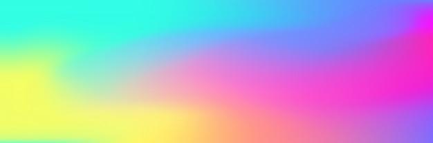 色とりどりの明るいグラデーションメッシュの背景