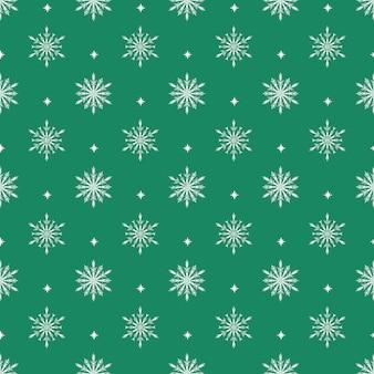 雪とのシームレスなパターンベクトル