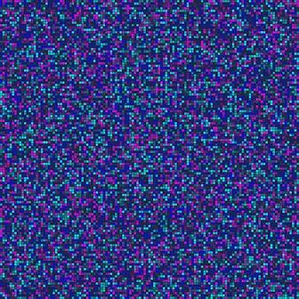 グリッチ効果を持つ抽象的なシームレスパターン。