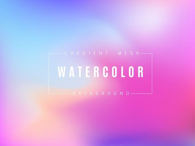 抽象的な色とりどりの明るいグラデーションメッシュの背景。