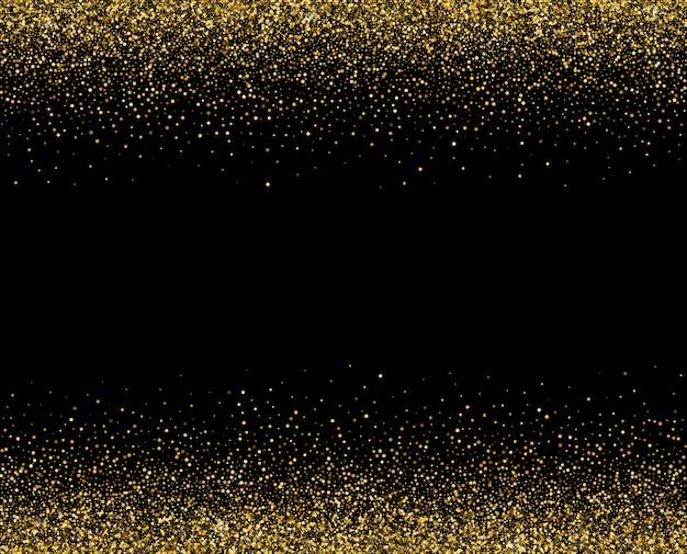 Золотой свет сверкает звездным блеском.
