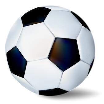 Футбольный мяч, изолированные на белом фоне.