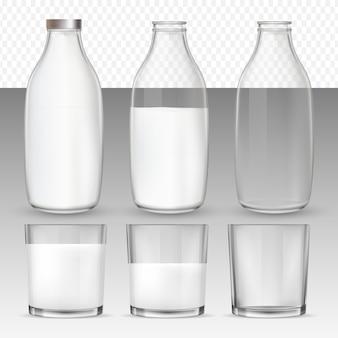 Стаканы и бутылки