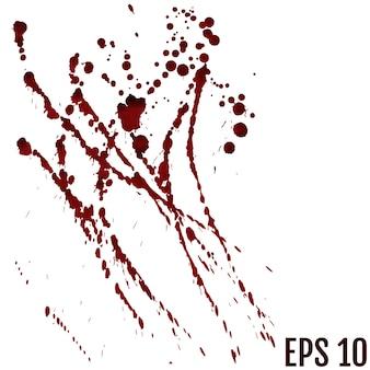 血、ハロウィーンのコンセプトです。