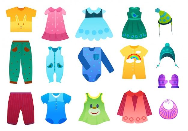 赤ちゃんと子供の子供服