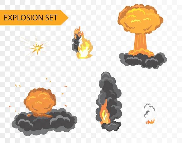 アニメーション効果を爆発させる