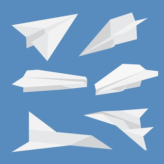 紙飛行機のセット