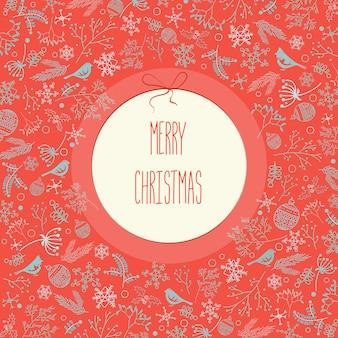 幸せな休日のクリスマスの背景
