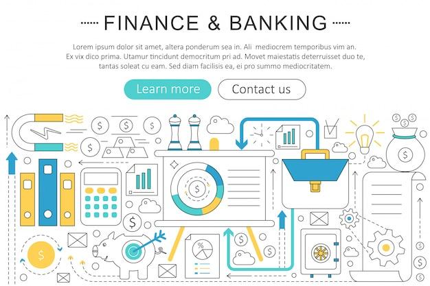 金融、銀行投資の概念