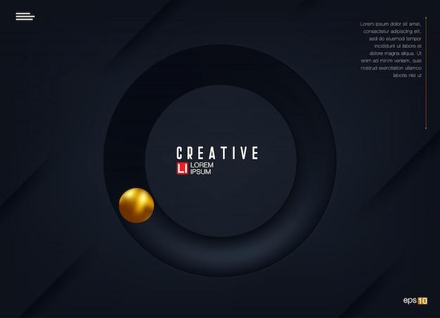 Красочный геометрический дизайн фона