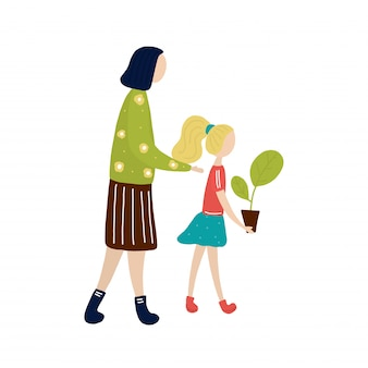 マザーと女の子