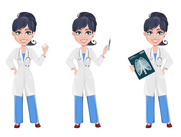 医者の女性