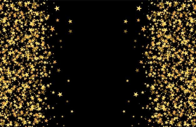 Блестящий узор из звезд