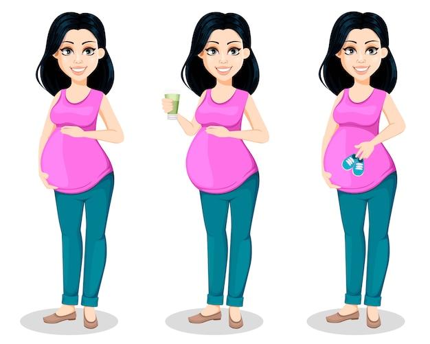 女性は母親になる準備をする