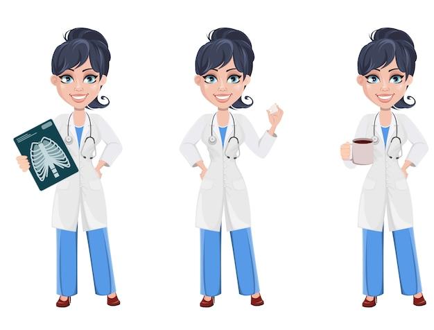 Доктор женщина, профессиональный медицинский персонал