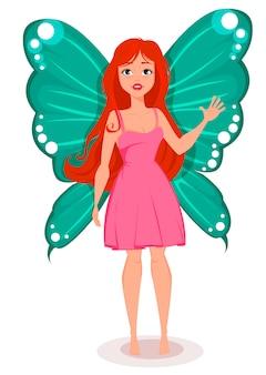 蝶の羽と妖精