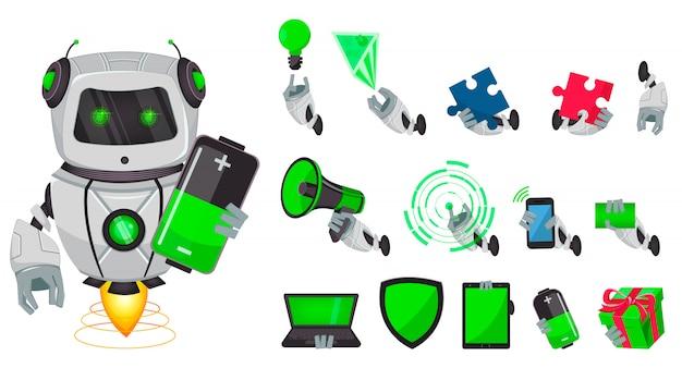 人工知能ロボット、ボット