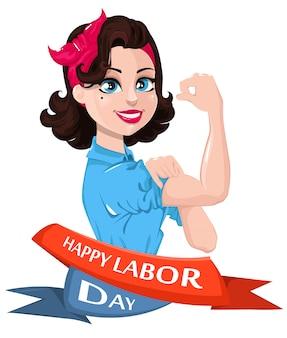 Плакат дня труда