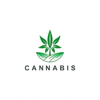 Логотип каннабиса