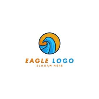 Шаблон логотипа орла
